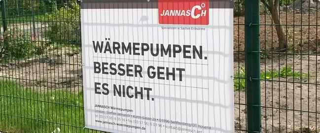 Qualitätsarbeit von Jannasch!